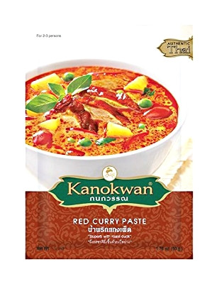 Red Curry Paste 50g - KANOKWAN