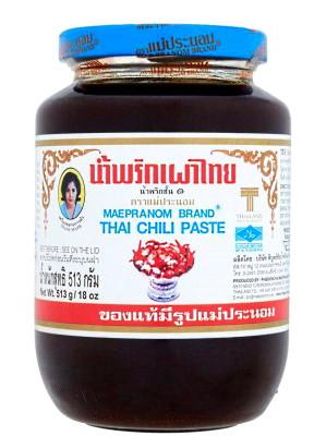 Thai Chilli Paste 513g - MAE PRANOM