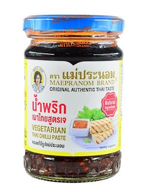 Vegetarian Thai Chilli Paste - MAE PRANOM