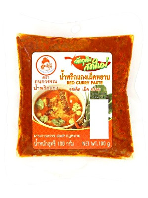 Red Curry Paste 100g – KANOKWAN