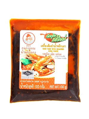 Tom Yum with Roasted Chilli Paste 100g – KANOKWAN
