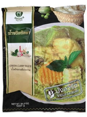 VEGETARIAN Green Curry Paste 1kg – NITTAYA