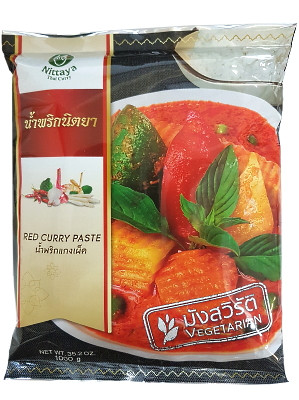 VEGETARIAN Red Curry Paste 1kg – NITTAYA
