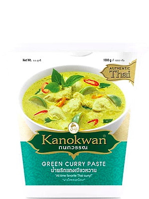 Green Curry Paste 1kg – KANOKWAN  ***CLEARANCE (best before: 21/01/20)***