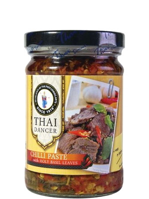 Chilli Paste with Holy Basil Leaves – THAI DANCER