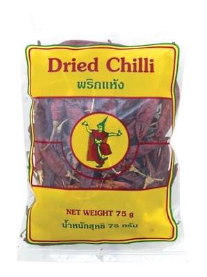 Large Dried Chilli 75g – THAI DANCER