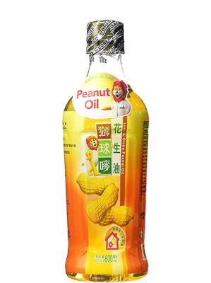 Chinese Peanut (Groundnut) Oil 600ml - LION & GLOBE
