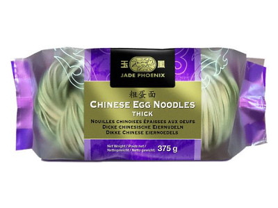 Chinese Egg Noodles - Thick - JADE PHOENIX