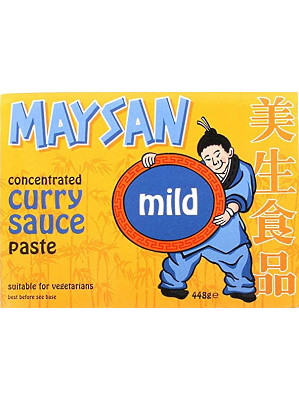 Concentrated Curry Sauce Paste - Mild - MAYSAN