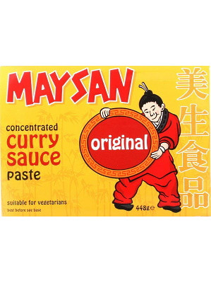 Concentrated Curry Sauce Paste - Original - MAYSAN