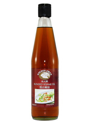 Blended Sesame Oil 650ml - GOLDEN SWAN