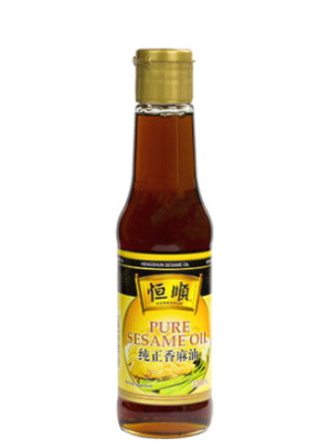 Pure Sesame Oil 150ml - HENG SHUN