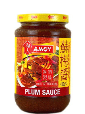Plum Sauce for Cooking 430g - AMOY