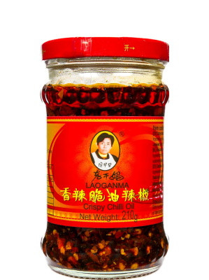Crispy Chilli in Oil 210g - LAOGANMA