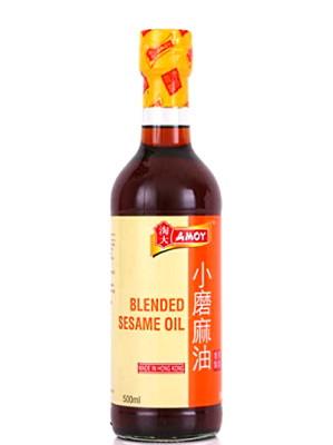 Blended Sesame Oil 500ml - AMOY