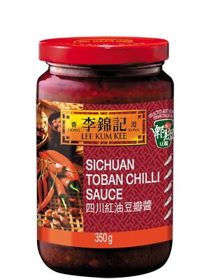 SICHUAN Toban Chilli Sauce 350g - LEE KUM KEE