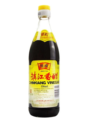 Chinkiang (black) Vinegar 550ml - HENG SHUN