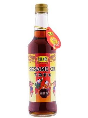 Pure Sesame Oil 500ml - HENG SHUN