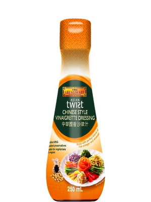 ASIAN TWIST Chinese Style Vinaigrette Dressing - LEE KUM KEE ***CLEARANCE (best before: 23/01/21)***