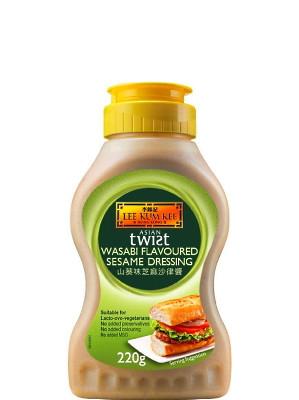 ASIAN TWIST Wasabi Flavoured Sesame Dressing - LEE KUM KEE