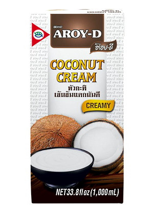 100% Coconut Cream 1ltr - AROY-D