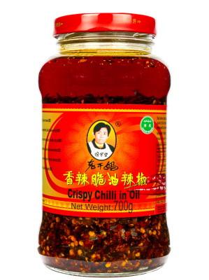 Crispy Chilli in Oil 700g - LAOGANMA