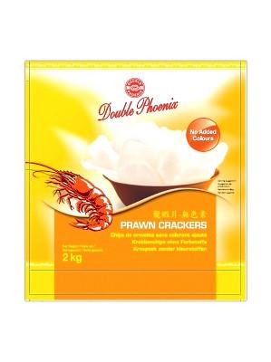 White Prawn Crackers 2kg - DOUBLE PHOENIX