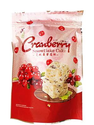 Snowflake Cake - Cranberry - LOVE & LOVE