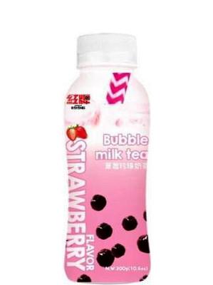 Bubble Milk Tea - Strawberry Flavour - RICO