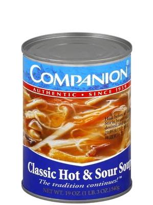Classic Hot & Sour Soup - COMPANION
