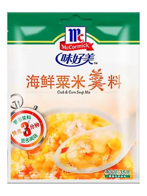 Seafood Flavour & Corn Soup Mix - McCORMICK