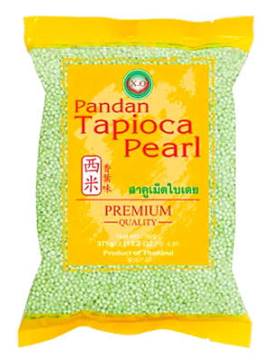 Tapioca Pearl - Pandan Flavour (small) - XO