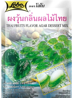 Agar Dessert Mix - Thai Fruits Flavour - LOBO