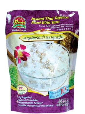 Instant Thai Tapioca Pearl with Taro - MADAM PUM