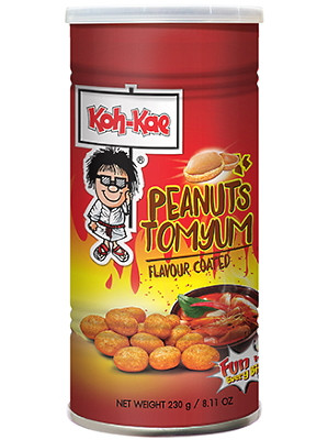 Coated Peanuts - Spicy Tom Yum Flavour - KOH KAE