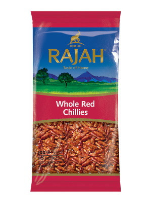 Dried Whole Red Chillies 200g - RAJAH