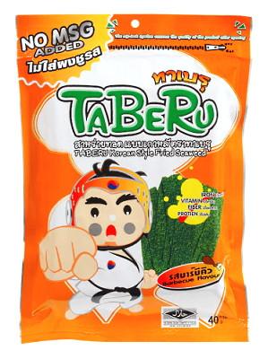 Korean Style Fried Seaweed – BBQ Flavour – TABERU