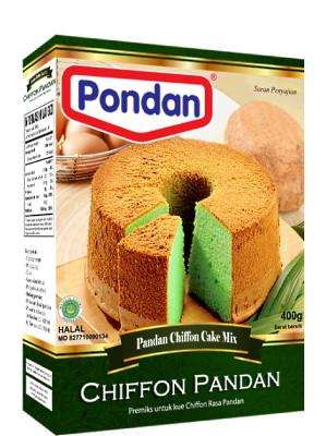 Pandan Chiffon Cake Mix – PONDAN