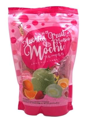 Assorted Fruit Flavour Mochi 120g – LOVE & LOVE