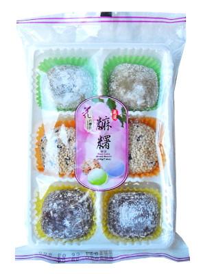 Rice Cake Mixed (Taro, Matcha, Sesame) Mochi 210g (tray) – LOVE & LOVE