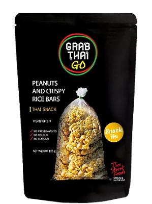 Peanut & Crispy Rice Snack Bars – GRAB THAI