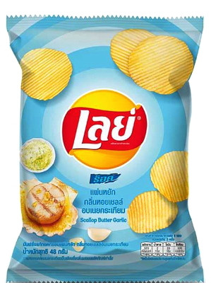 Potato Chips – Scallop Butter Garlic Flavour – LAY'S
