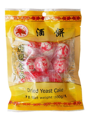 Dried Yeast Cake 100g - GOLDEN LILY