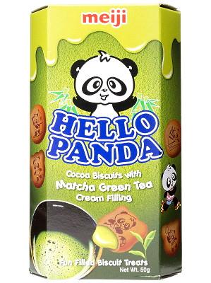 HELLO PANDA - Matcha Green Tea 50g - MEIJI
