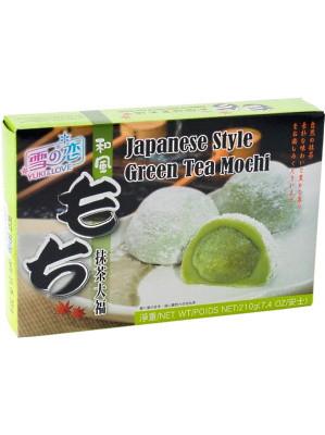 Japanese Style Green Tea Mochi 210g - YUKI & LOVE