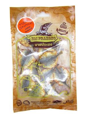 Roasted Seasoned Yellow Stripe Trevally – Chilli Flavour – NAI PRAMONG