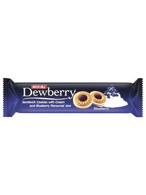 DEWBERRY Sandwich Cookies with Cream & Blueberry Flavoured Jam – JACK 'n' JILL