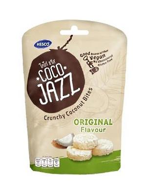 COCO JAZZ Crunchy Coconut Bites - Original - HESCO