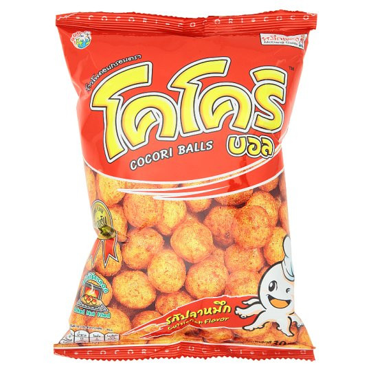 Baked Corn & Rice Snack - Cuttlefish Flavour - COCORI