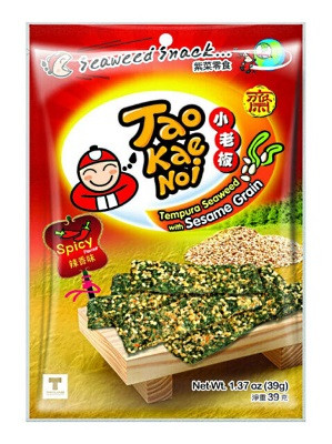 Tempura Seaweed with Sesame Grain - Hot & Spicy Flavour - TAO KAE NOI